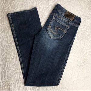 "Silver Jeans Bootcut Frances 18"" Dark Wash"